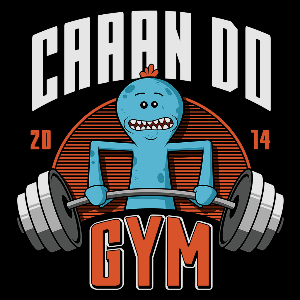 Pop-Up Tee: Can Do Gym
