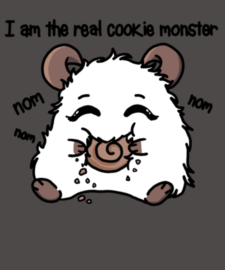 Qwertee: Cookie monster