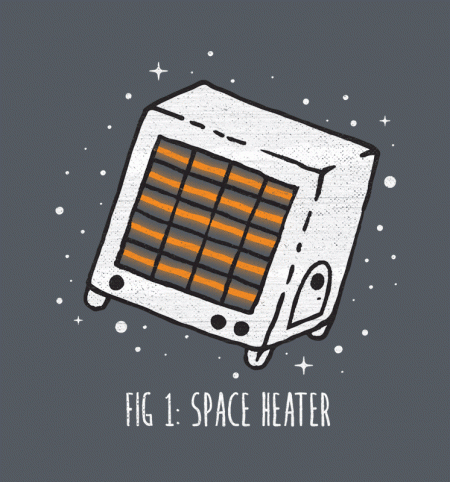 BustedTees: Space Heater