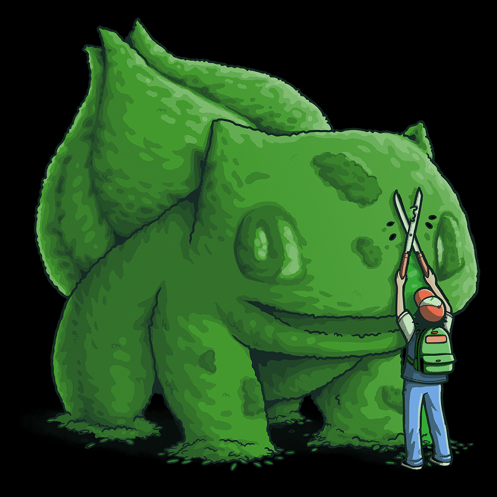 Pop-Up Tee: Plant Type Monster