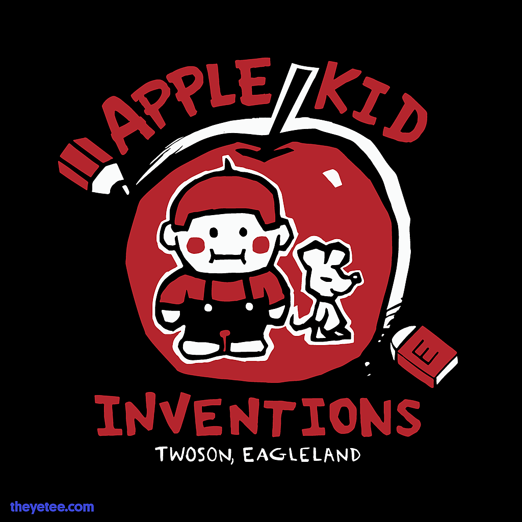 The Yetee: Apple Kid Inventions