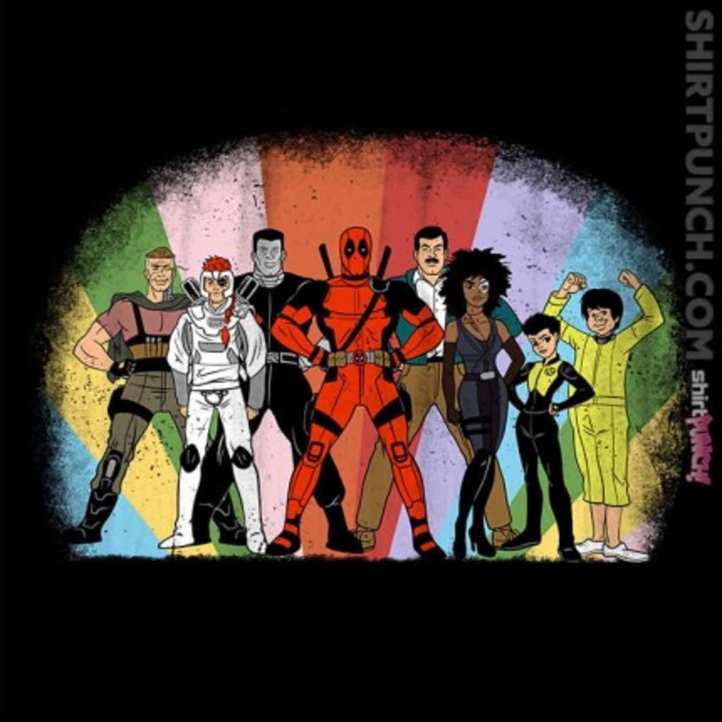 ShirtPunch: X Super Friends
