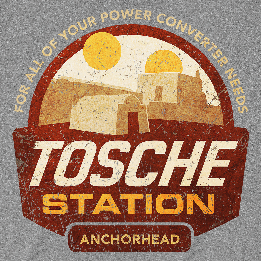 Pop-Up Tee: Tosche Station