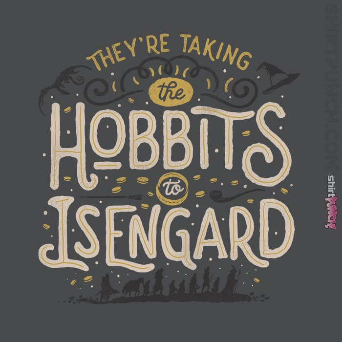 ShirtPunch: Taking The Hobbits To Isengard