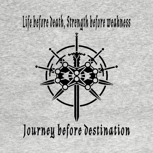 TeePublic: Stormlight Archive - Life before death, strength before weakness, journey before destination