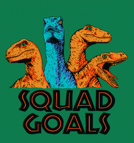 BustedTees: Squad Goals