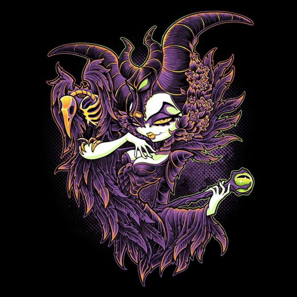 Once Upon a Tee: Malevolent Gaze