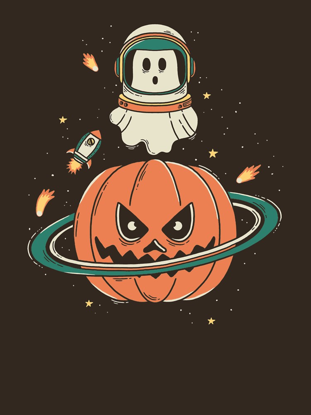 RedBubble: Pumpkin Planet