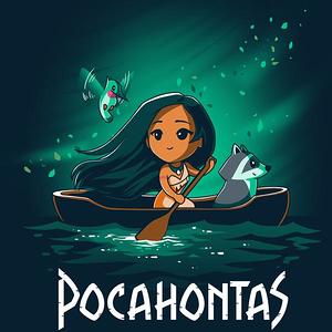 TeeTurtle: Disney Pocahontas