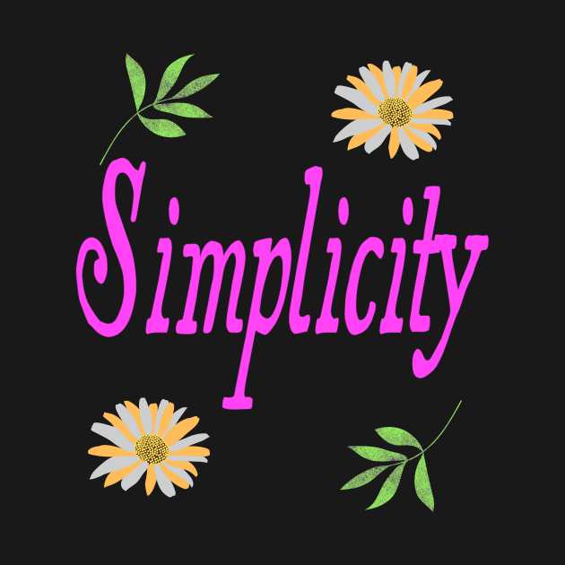 TeePublic: Simplicity