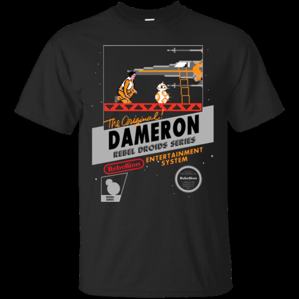 Pop-Up Tee: NES 8Bit Dameron