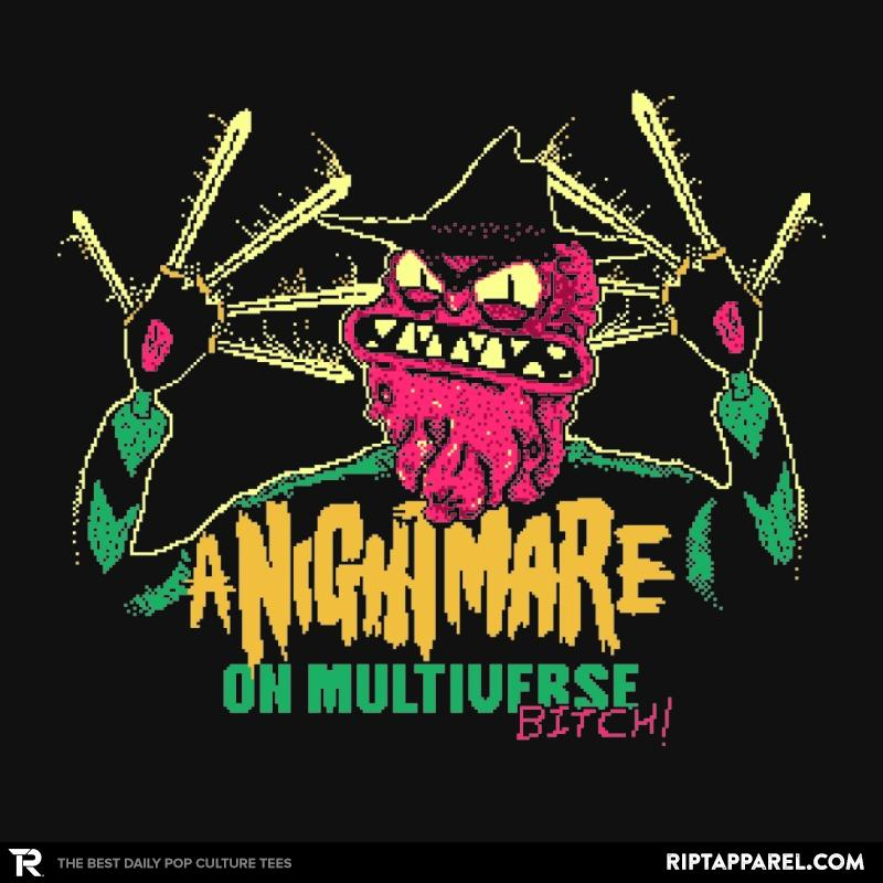 Ript: Welcome to my nightmare B....!