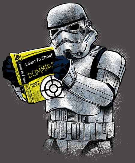 Qwertee: Learn to Shoot for Dummies