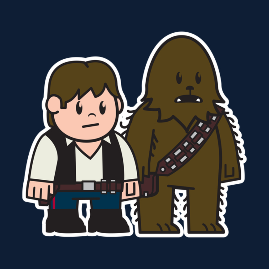 NeatoShop: Mitesized Han & Chewie