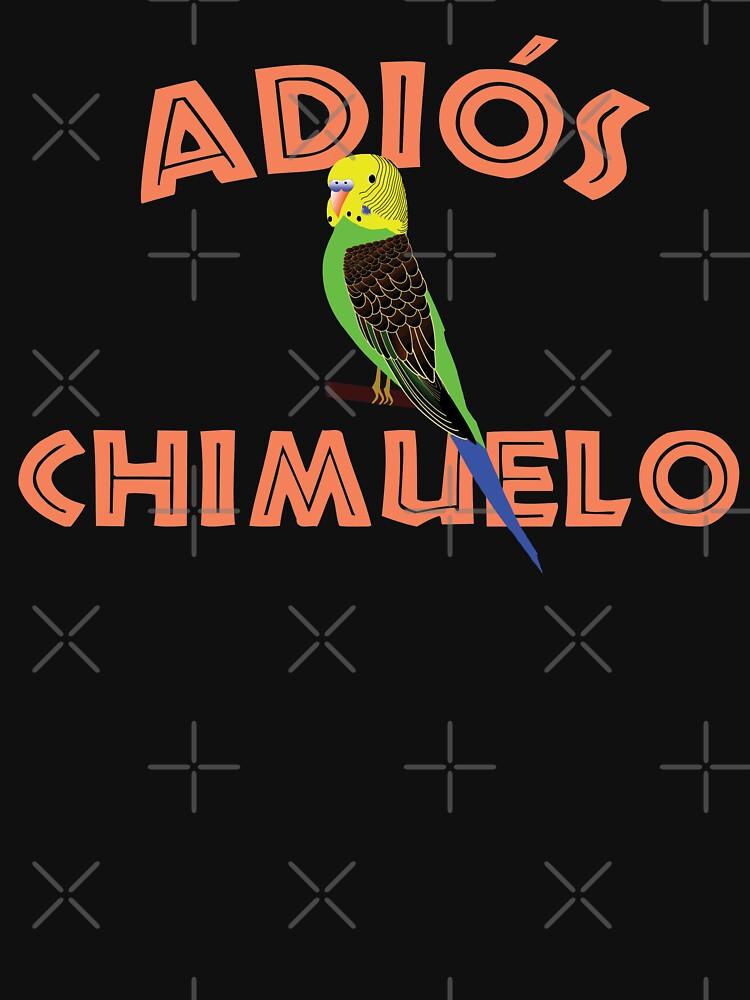 RedBubble: Adios Chimuelo funny Chile internet meme