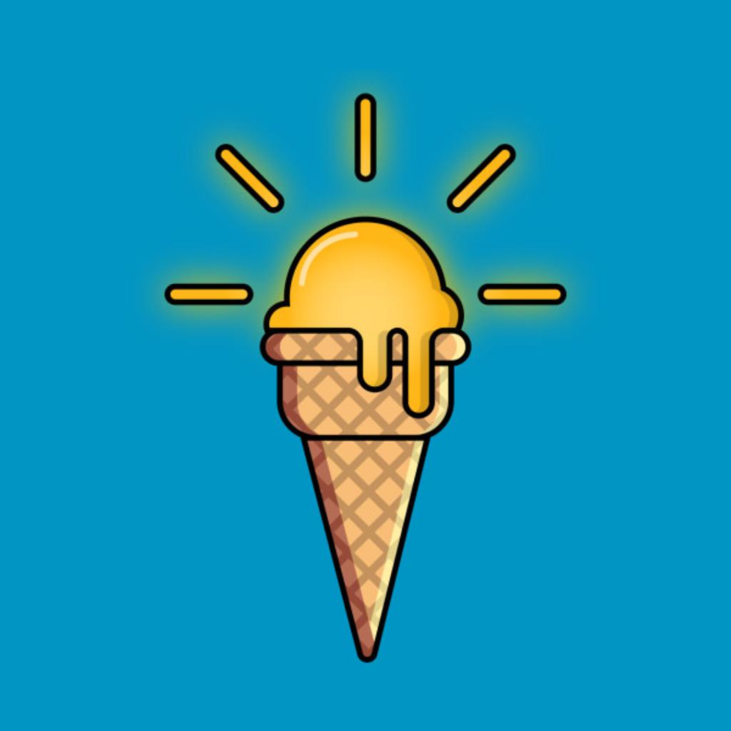 TeePublic: Sun Cream