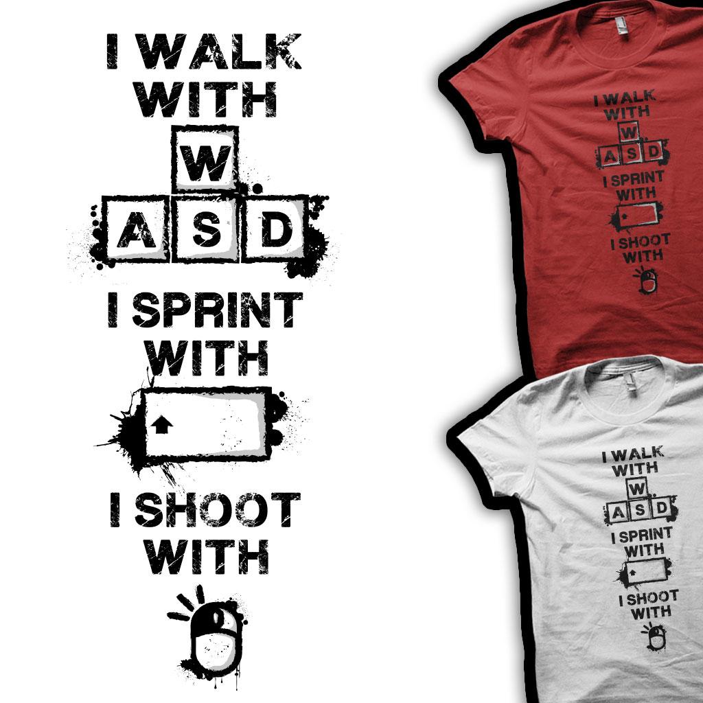 TeeTee: WALK SPRINT SHOOT
