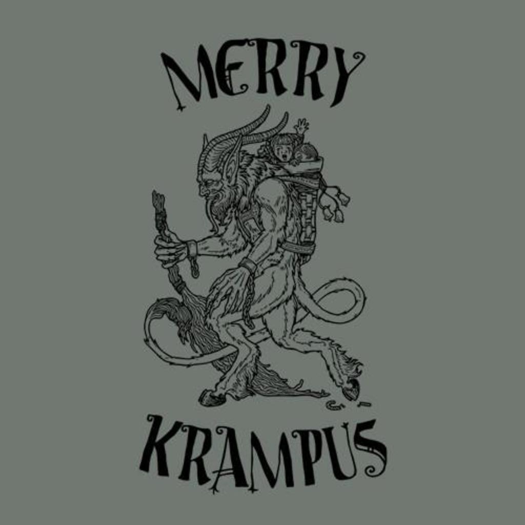 Five Finger Tees: Merry Krampus T-Shirt