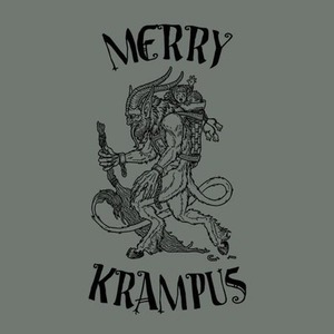 Five Finger Tees: Merry Krampus T-Shirt