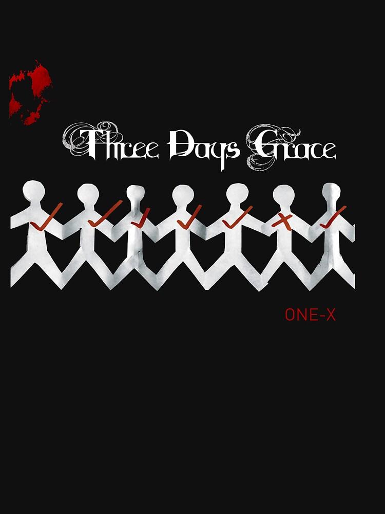 RedBubble: Three days grace Rock band