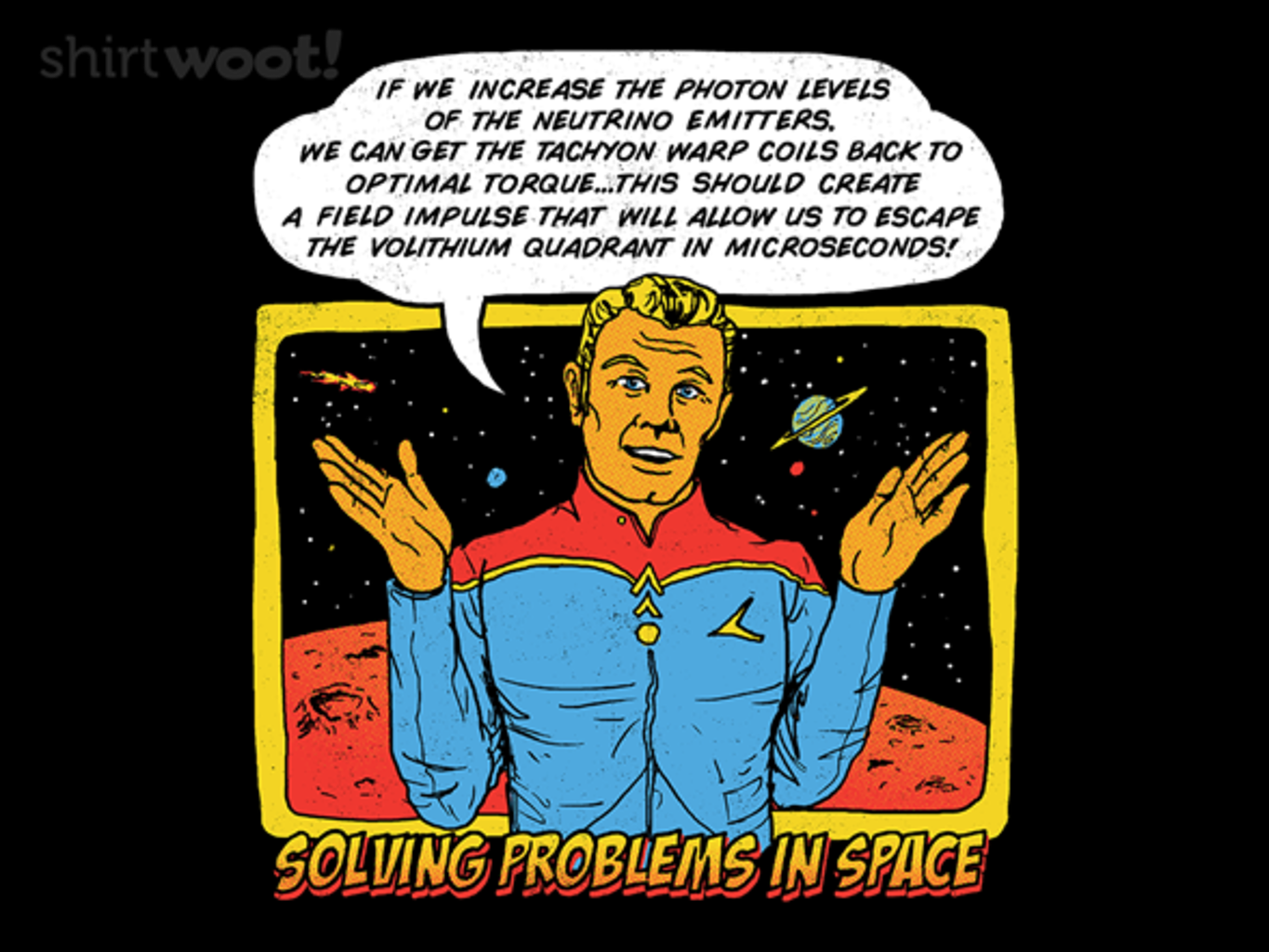 Woot!: Solving Problems In Space