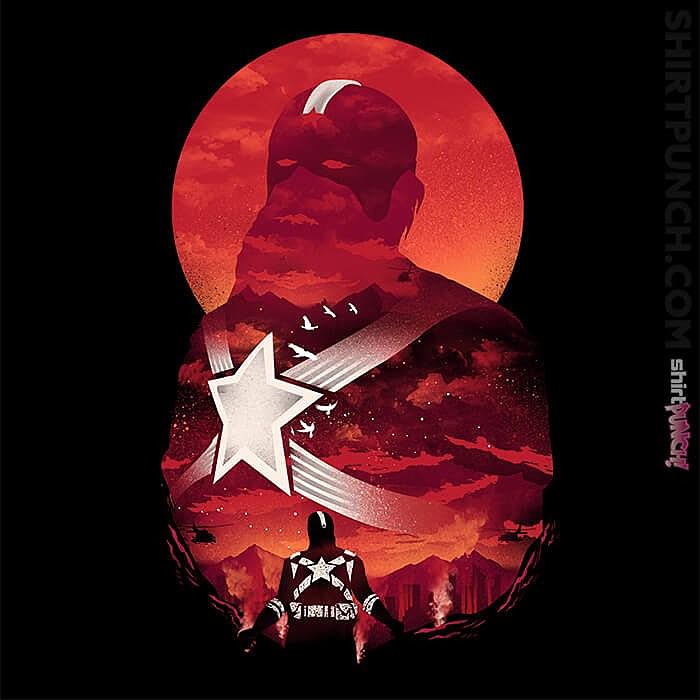 ShirtPunch: Red Guardian Sun