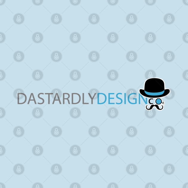 TeePublic: Dastardly Design co - Full Logo