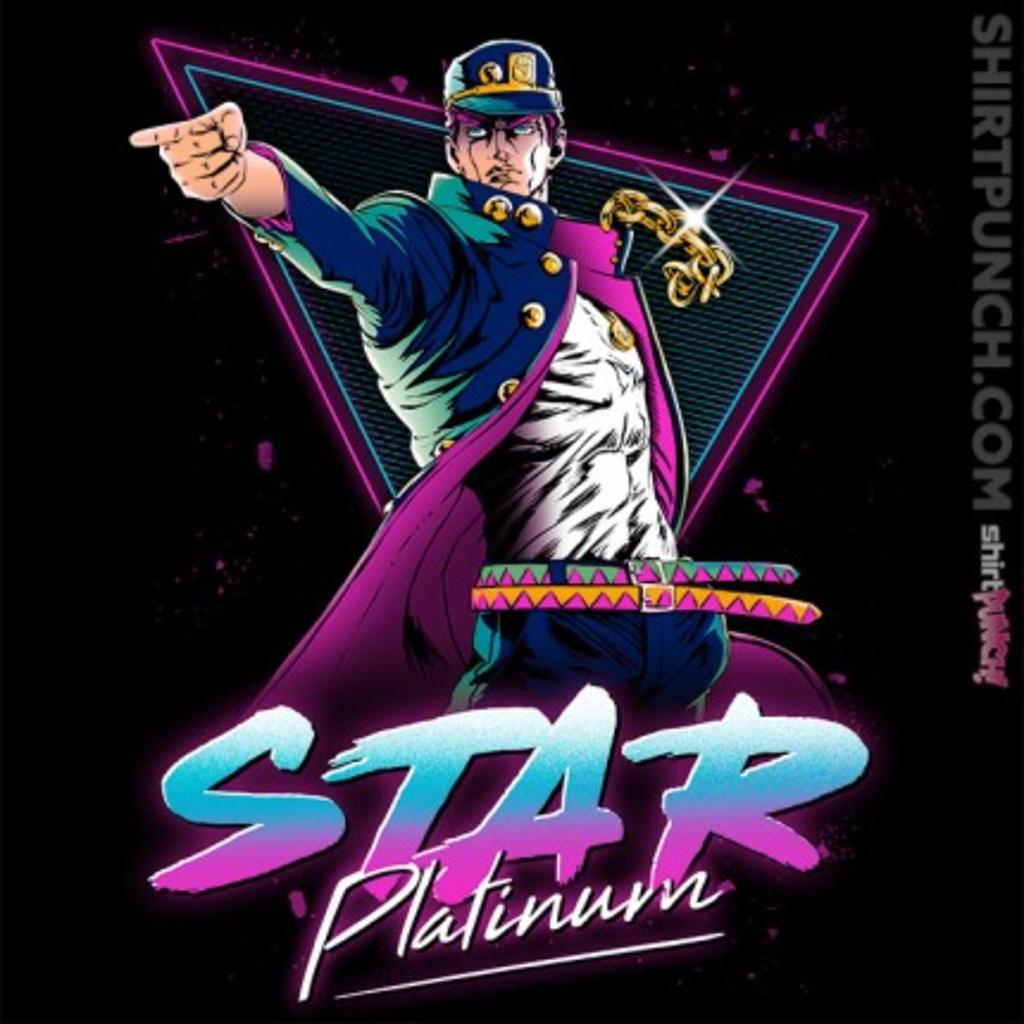 ShirtPunch: STAR PLATINUM