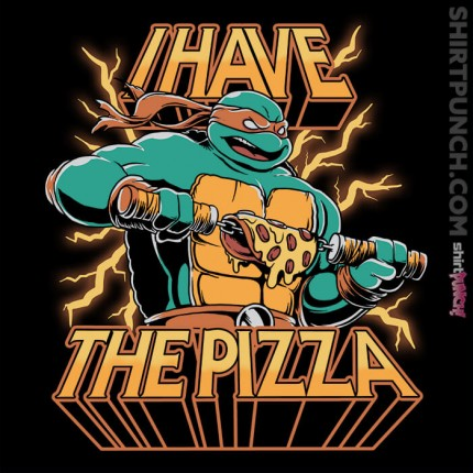 ShirtPunch: PIzza Power