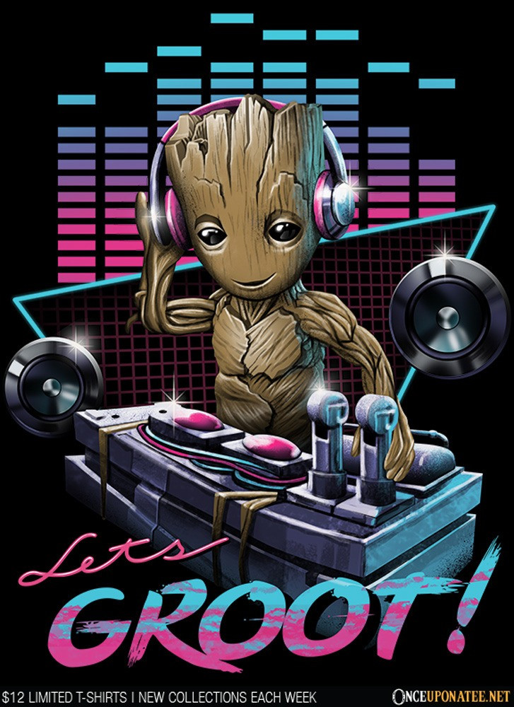 Once Upon a Tee: DJ Groot
