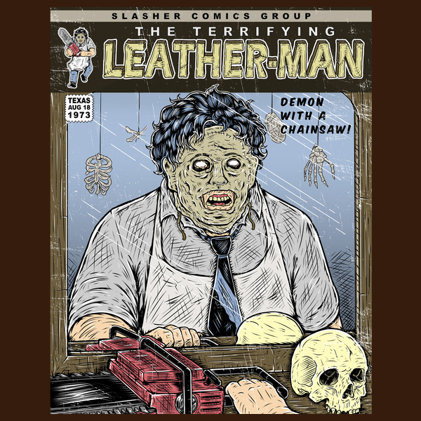 NeatoShop: THE TERRIFYING LEATHER FACE