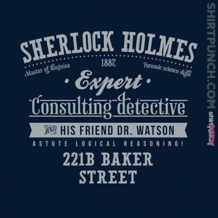 ShirtPunch: Sherlock Holmes