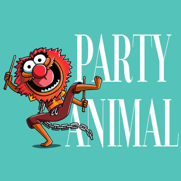 TeeTurtle: Party Animal