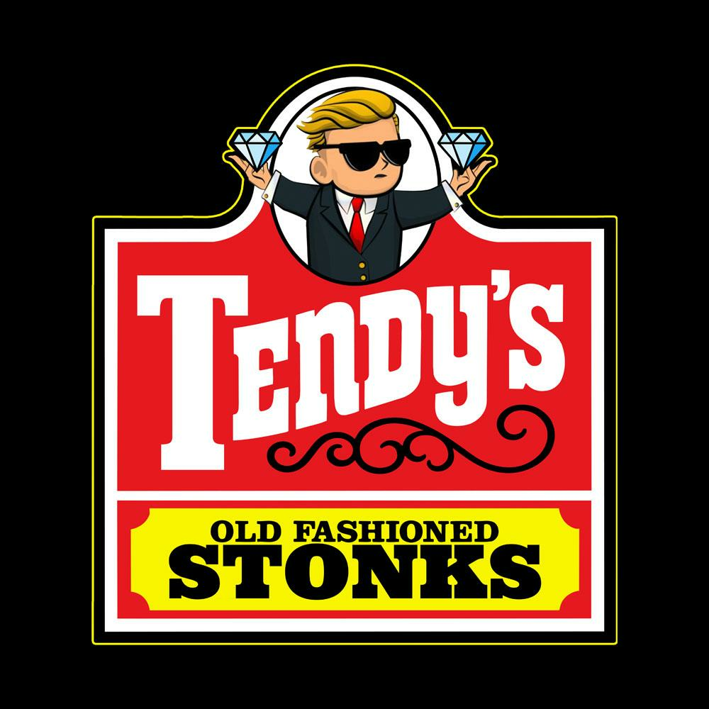 BustedTees: Tendy's Old Fashion Stonks