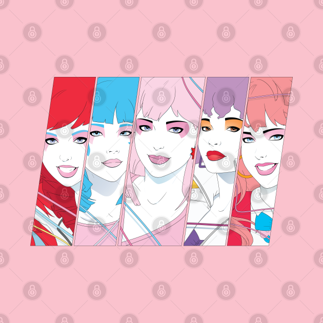 TeePublic: Glamour and Glitter, Fashion and Fame, and Raya