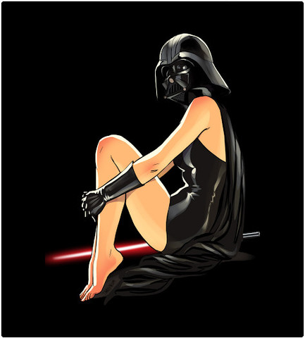 Shirt Battle: Darth Pin-Up
