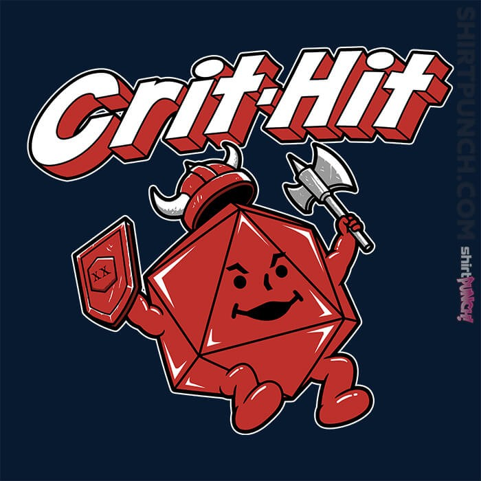 ShirtPunch: Crit-Hit