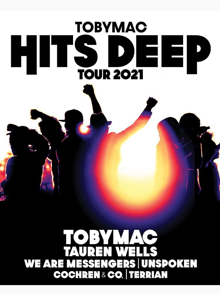 RedBubble: TOBYMAC hits deep tour 2021