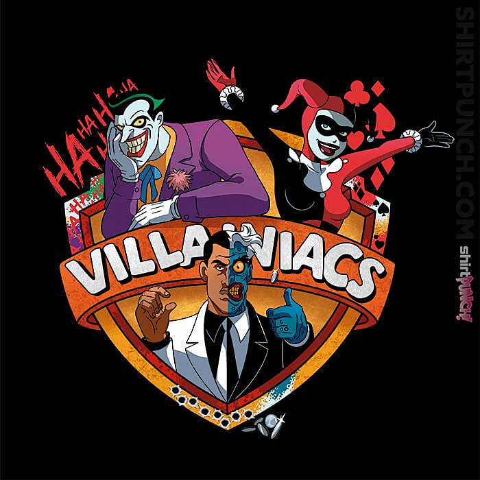ShirtPunch: Villainiacs