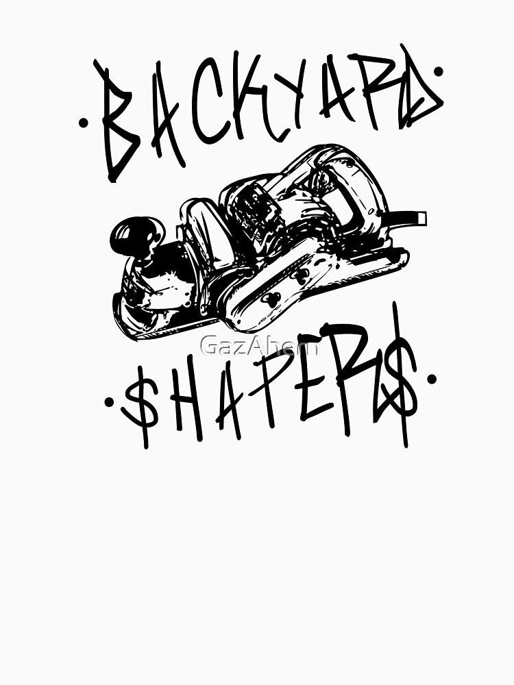 RedBubble: Black LOGO Backyard Shapers V2
