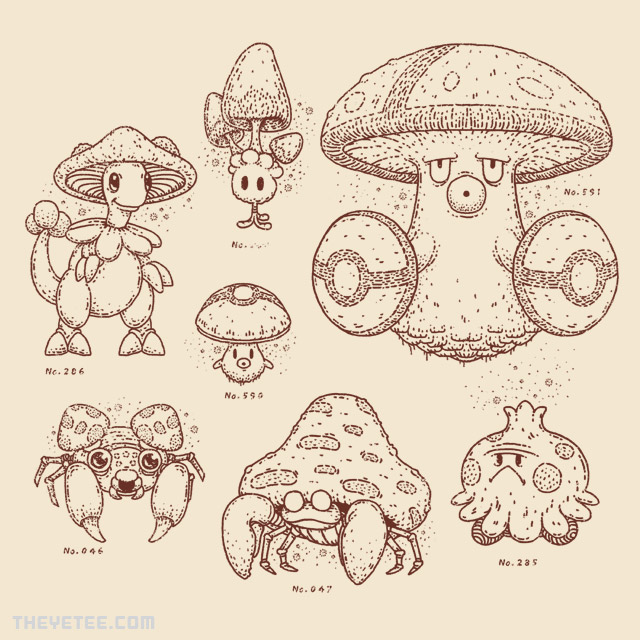 The Yetee: Mushroomon
