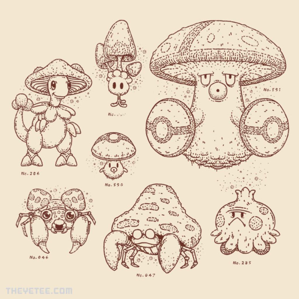 The Yetee: Mushroomon