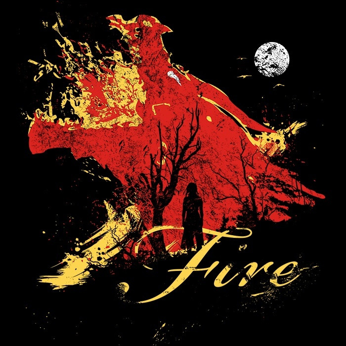 We Heart Geeks: Born of Fire - Men's T-Shirt