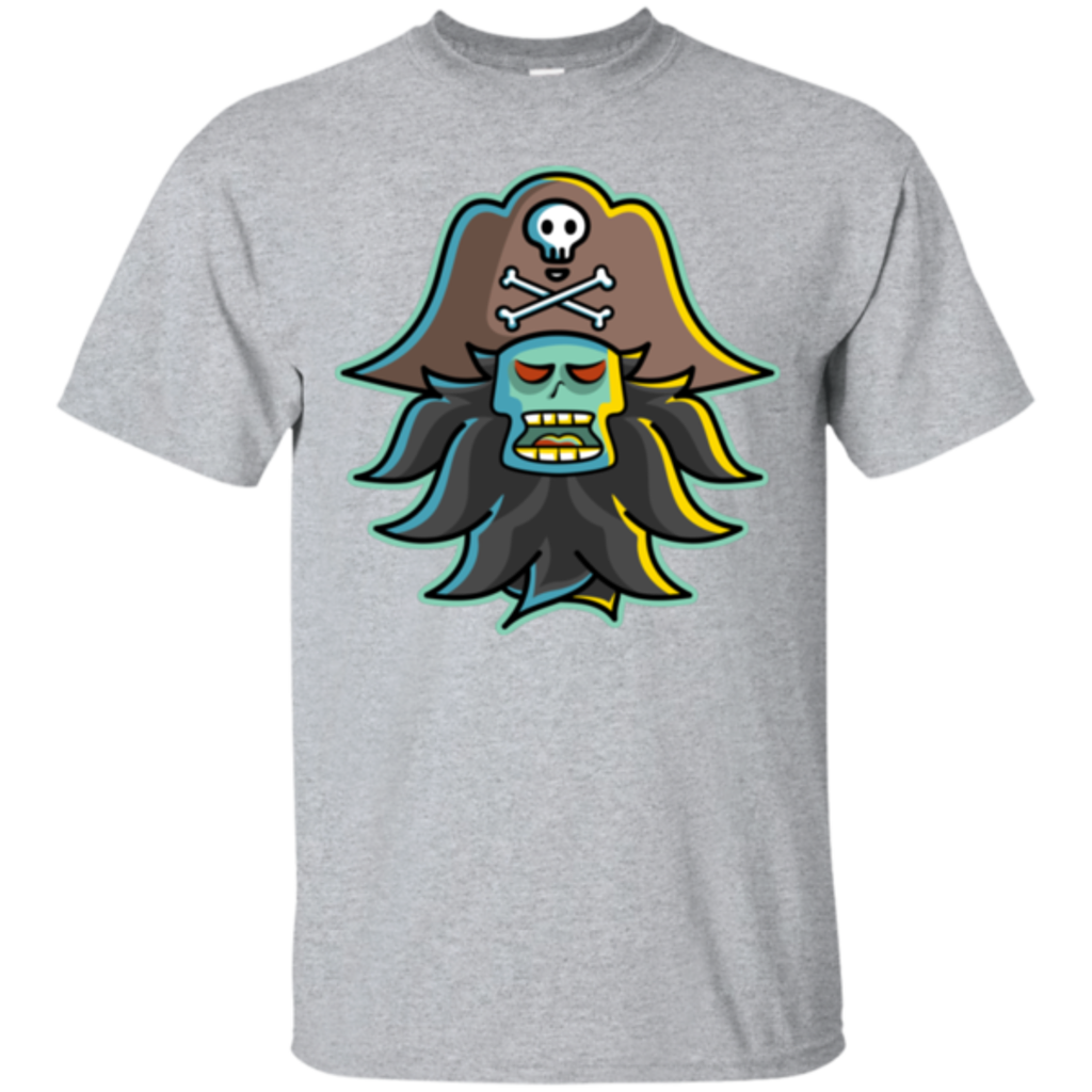 Pop-Up Tee: Ghost Pirate LeChuck
