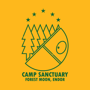 TeePublic: Camp Sanctuary