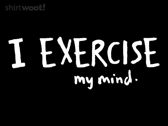 Woot!: I Exercise