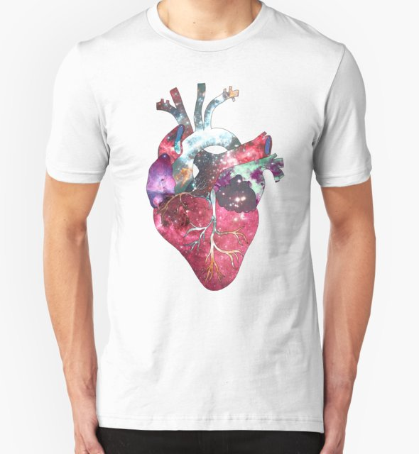 RedBubble: Superstar Heart (on grey)