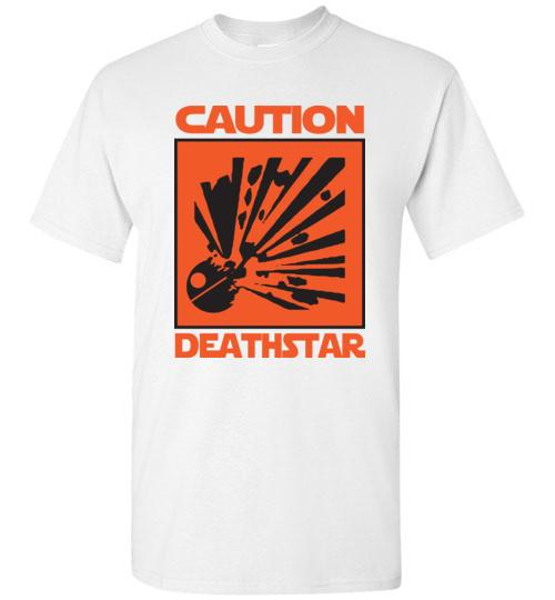 Design Team 5000: Caution Deathstar Shirt of the Week $9.99