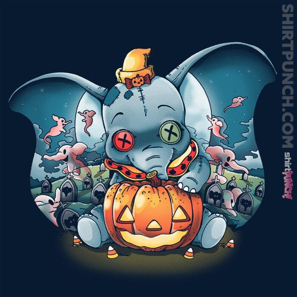 ShirtPunch: Elephant Halloween