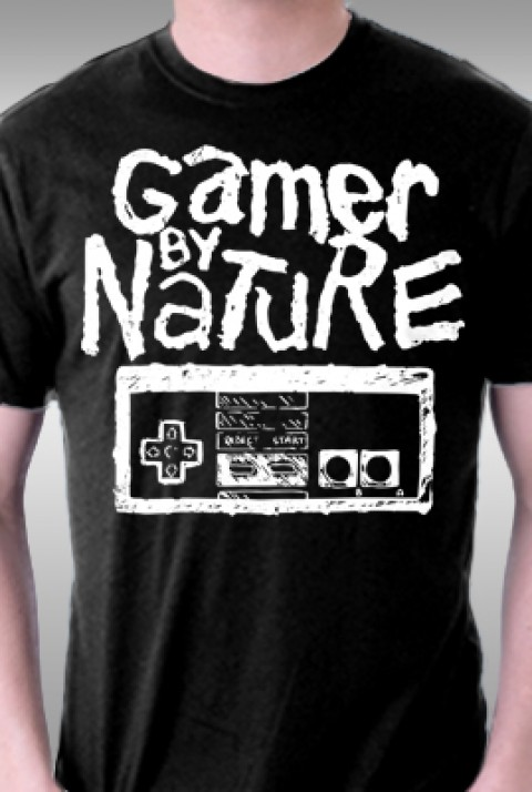 TeeFury: Gamer by Nature